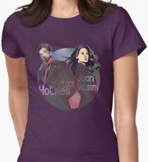 Joan and Sherlock Womens Fitted T-Shirt