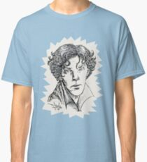 Portrait of a Consulting Detective Classic T-Shirt