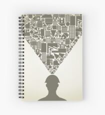 Builder Spiral Notebook
