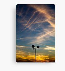 Skylines Canvas Print