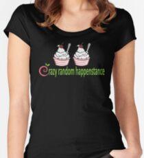 Doctor Horrible Crazy Random Happenstance Women's Fitted Scoop T-Shirt