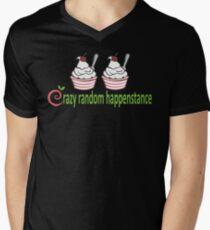 Doctor Horrible Crazy Random Happenstance Mens V-Neck T-Shirt
