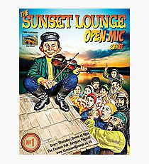 SSL Paddys Day - The Sunset Lounge Photographic Print