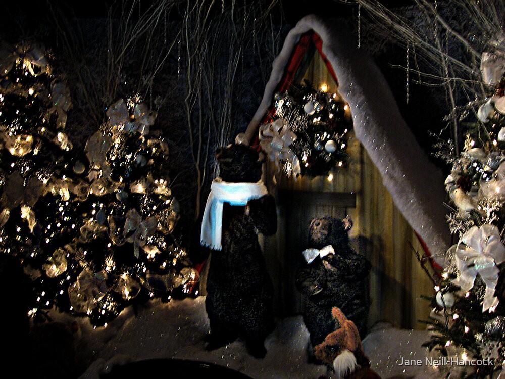 A Teddy Bear Christmas by Jane Neill-Hancock