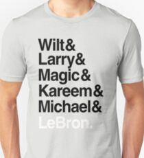 best players all the times. ( basketball ) T-Shirt
