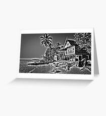 Kapoposang Beach House Greeting Card