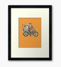 Fox Ride Framed Print