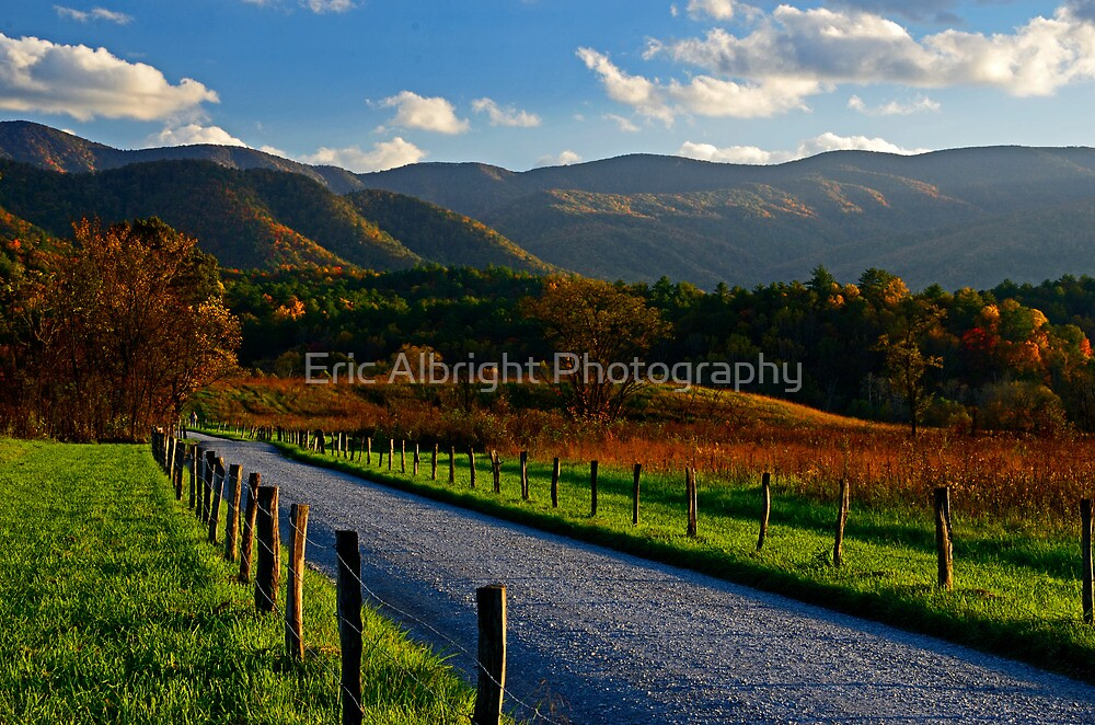 Hyatt Lane, Great Smoky Mountains National Park by Eric Albright Photography
