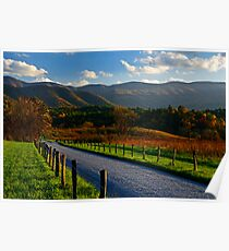 Hyatt Lane, Great Smoky Mountains National Park Poster
