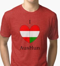 I Heart AusHun Tri-blend T-Shirt