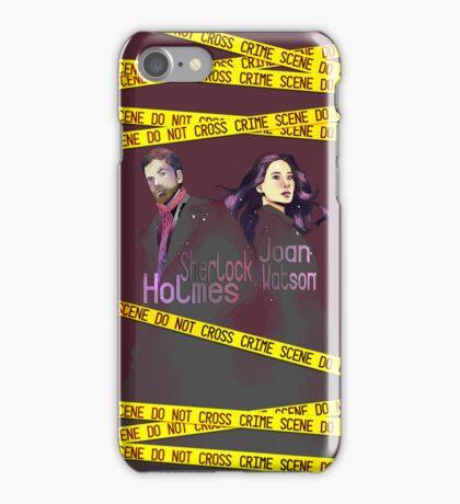Joan and Sherlock iPhone Case/Skin
