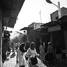 Women in the souk by Tom Migot