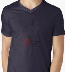 ...and also I want soft pretzels Men's V-Neck T-Shirt