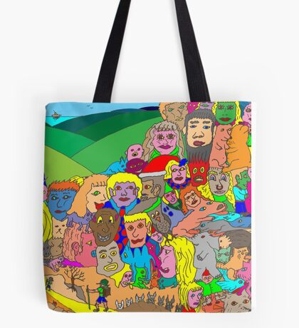 Peoplescape Tote Bag