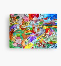 Cyclonic landscape Canvas Print