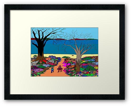 Gnomonic Landscape by David Fraser