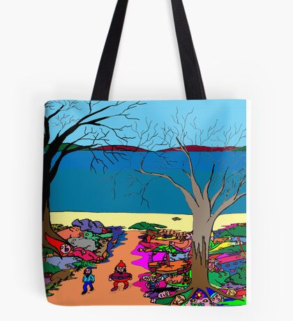 Gnomonic Landscape Tote Bag