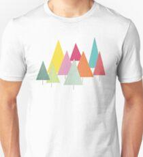 Tannenbäume Unisex T-Shirt