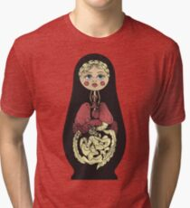 Russian doll Tri-blend T-Shirt