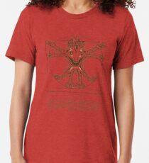 Vitruvischer Murloc Vintage T-Shirt