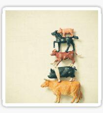 Animal Antics Sticker