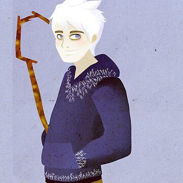 Jack Frost IPad by CourtoonXIII