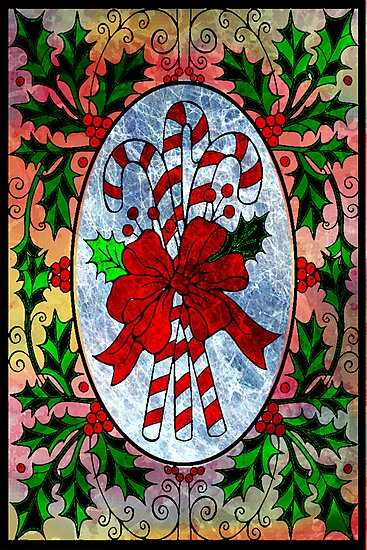CHRISTMAS CANDY CANES by Tammera