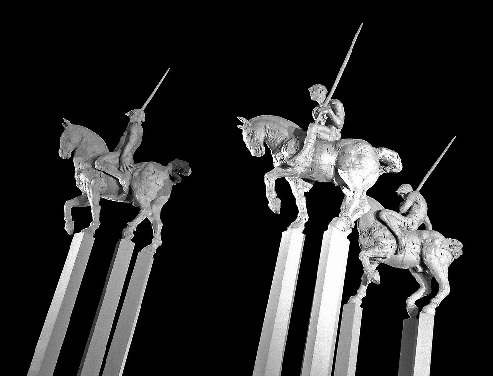 9 Pillars and 3 Lances by Randy Turnbow