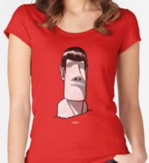 Spock/rock Women's Fitted Scoop T-Shirt
