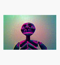 Skull Dude Photographic Print