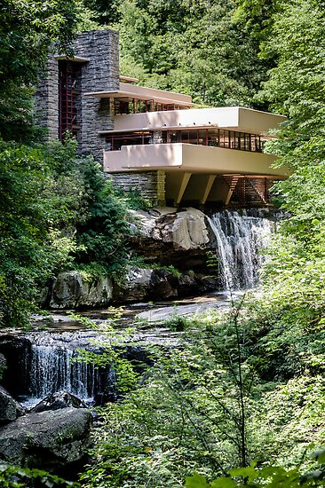 Falling Water Kaufman House Frank Lloyd Wright Posters