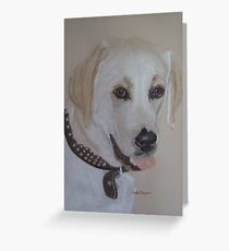 Lily the Lab Greeting Card