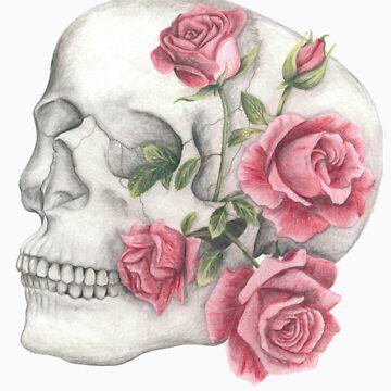 Rose Skull by jf901