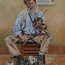 The Busker by David McEwen