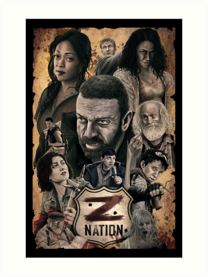 "Exceptionnel Z Nation"" Art Prints by TheArtofScott 