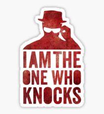 I am the one who knocks Sticker