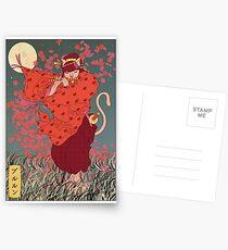 Pepperoni 1/3 Postcards