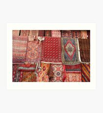 Turkish rugs Art Print