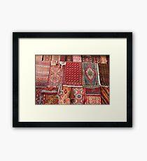 Turkish rugs Framed Print