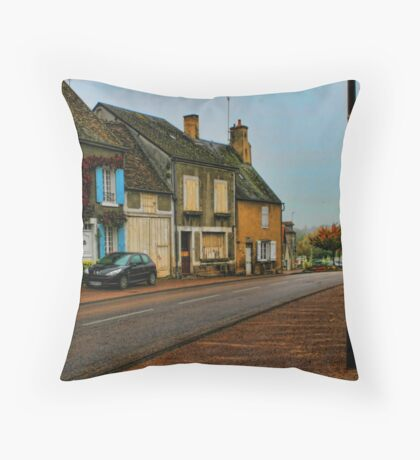Country town Throw Pillow