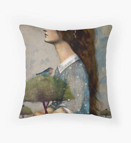 Plant Me a Tree Throw Pillow