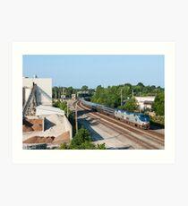 Amtrak Art Print