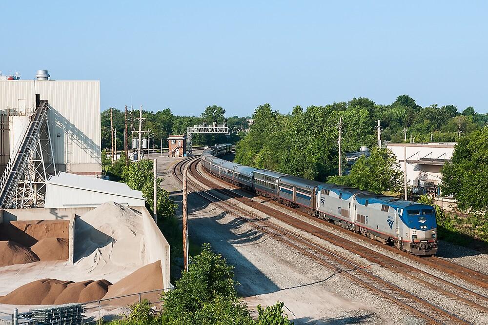 Amtrak by StonePhotos
