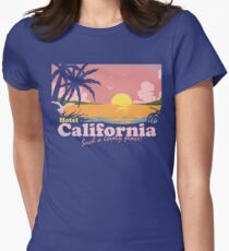 Hotel California Womens Fitted T-Shirt