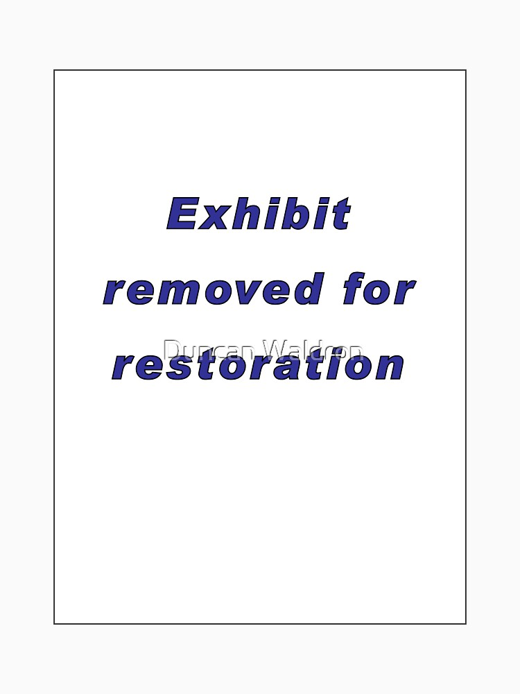 Removed for restoration by DuncanW