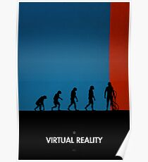 99 Steps of Progress - Virtual reality Poster