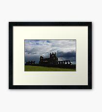 Whitby Abbey 1 Framed Print