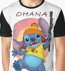 Ohana: Firefly/Stitch Mashup Graphic T-Shirt