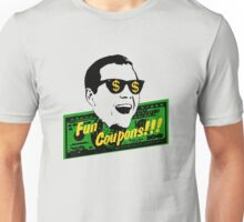 Fun Coupons! The Wolf of Wall Street Unisex T-Shirt