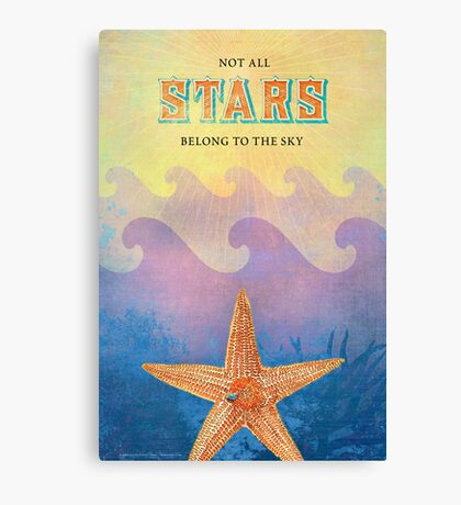 Not All Stars Belong to the Sky (Version 2) Canvas Print